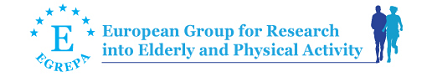 European Group for Research into Elderly and Physical Activity